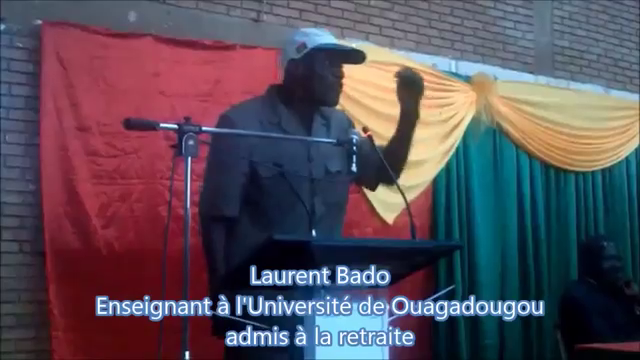 Laurent Bado fait son show