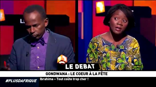 Gondwana-Le cœur à la fête, le débat décalé sur le plateau de +d'Afrique