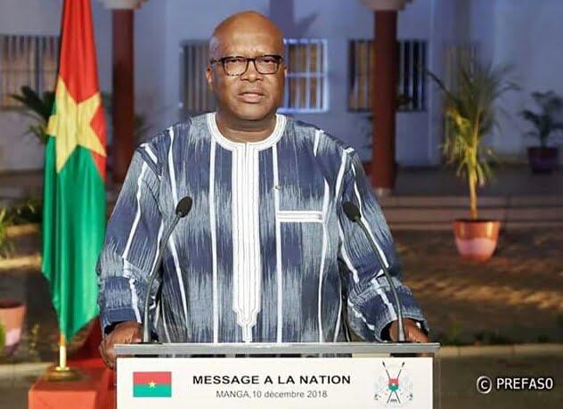 58e anniversaire de l'indépendance du Burkina Faso: message à la nation de M. Roch Marc Christian Kaboré, président du Faso, président du conseil des ministres