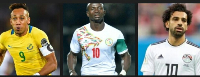 Ballon d'Or africain 2018: entre Aubameyang, Salah et Mané