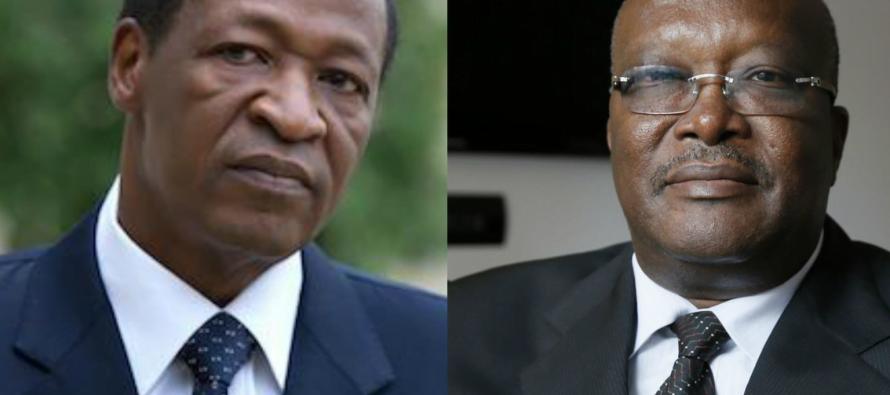 GOUVERNANCE: Blaise Compaoré se dit prêt à aider Rock Kaboré