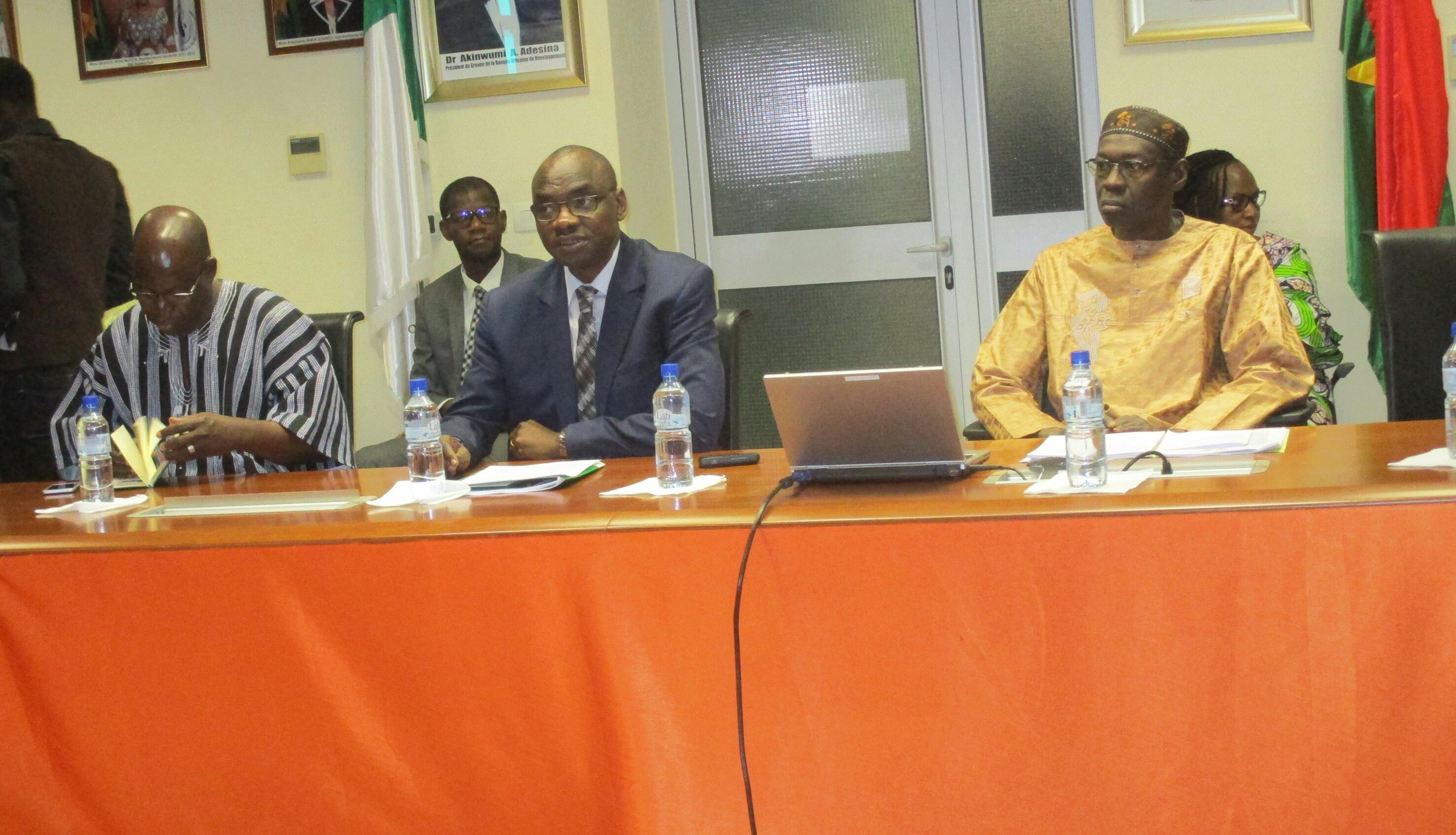 BAD BURKINA :Des projets prioritaires financés à hauteur de 1 105 milliards FCFA