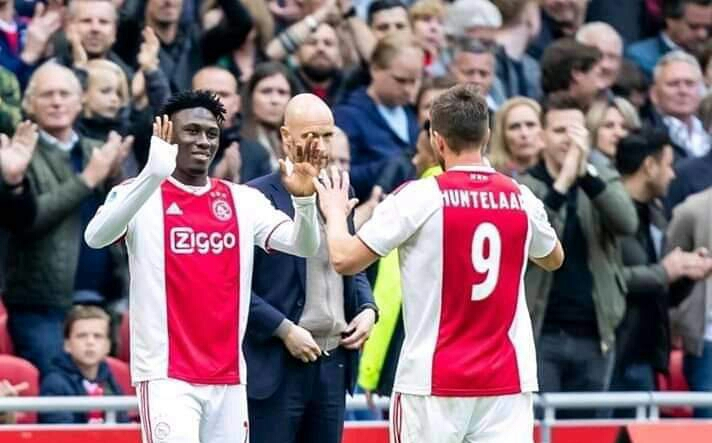 FOOTBALL: Franck Lacina Traoré est champion des Pays-Bas avec l'Ajax d'Amsterdam