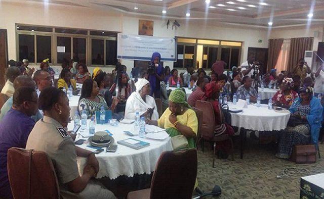 Images des travaux de lancement le 8 aout 2019 à Ouagadougou