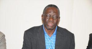 Photo d'archives Pissyamba Ouédraogo,secretaire général du Syntsha