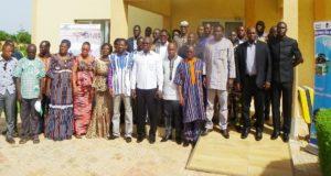 Photo des participants V4CP et ARBF prise à Koudougou lors de l'atelier