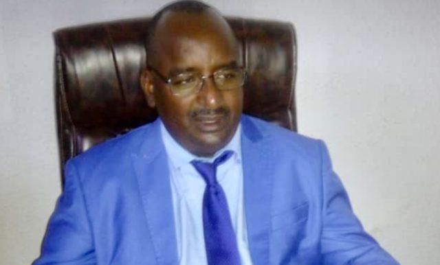 Photo d'Ousmane Dan Fodio Diallo prise le 31 octobre 2019