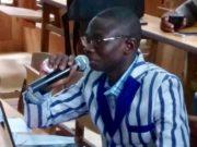 Photo du Dr Jacques Barro,Enseignant chercheur à l'Université Norbert Zongo de Koudougou