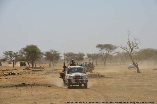 Image d'illustration des soldats burkinabè