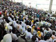 Image de la mobilisation des partisans de l'UPC à Abidjan,le 09 novembre 2019