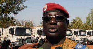 Photo du Colonel Gilles Bationo,chef d'etat major de l'armée de terre