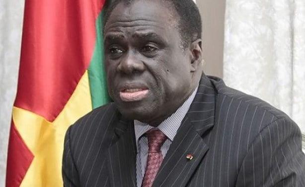 Michel Kafando Président de la transition au Burkina