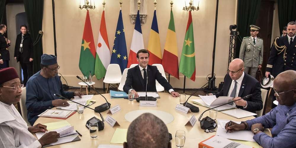 """Sommet de Pau :Les 5 """"Commandos"""" du G5 Sahel ont dit OUI à la force française au Sahel"""