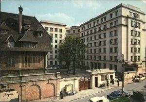 L'hôpital Foch situé à Suresnes (Hauts-de-Seine)