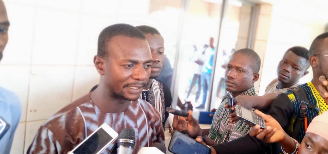 Jeunesse du centre : «nous ne sommes manipulés par aucun parti politique, nous jouons notre rôle d'éveil citoyen »(Fabrice Sawadogo)