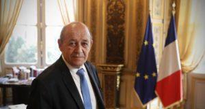 Jean-Yves Le Drian, ministre des Affaires étrangères,