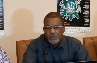 Abdoulaye Diallo,Coordonnateur du festtival Jazz à Ouaga