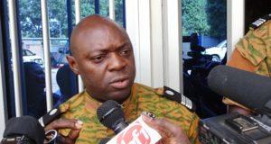 Le Colonel Serge Alain Ouedraogo