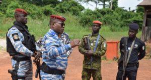 Photo de soldats ivoiriens