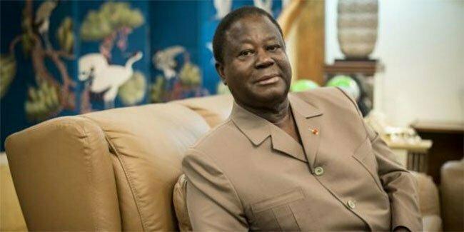 Henri Konan Bedie candidat à la présidentielle ivoirienne