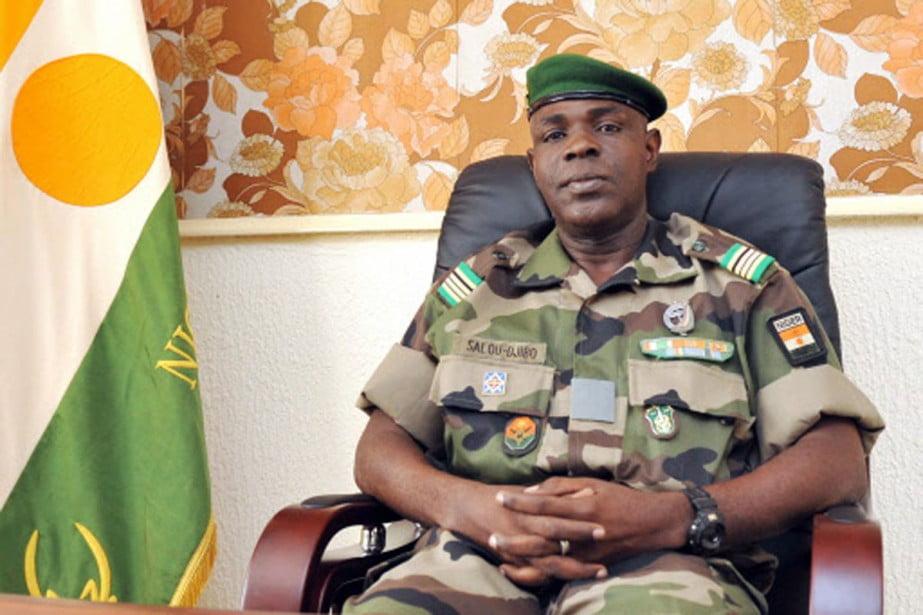"""Niger: le Général Salou Djibo""""tombeur""""de Tandja est  candidat à la présidentielle"""