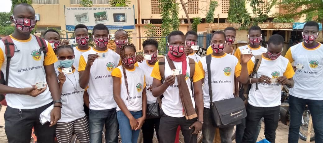 Enrôlement électoral : le mouvement ''Burkina Djigui'' sensibilise la population