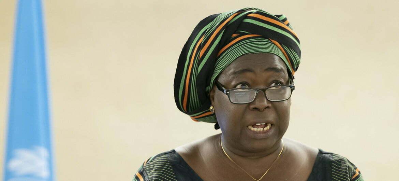 Maminata Ouattara Ouattara, Ministre en charge des droits humains et de la promotion civique du Burkina Faso,Photo Photo ONU/ Jean Marc Ferré