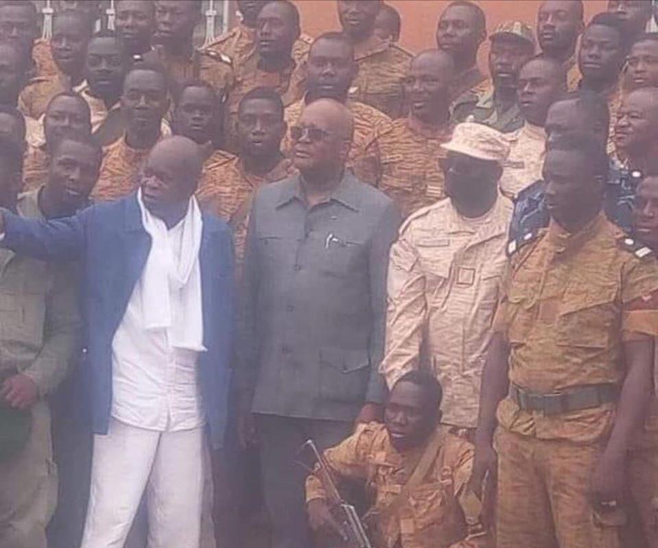 Le Président du Faso dans la Province