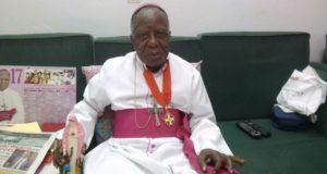 Mgr Pierre Marie Coty, évêque émérite de Daloa,décédé le 17 juillet 2020
