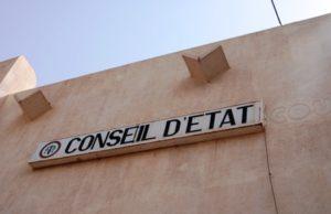 Burkina justice: Conseil d'Etat