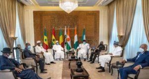 Des chefs d'Etat de la Cedeao,photo d'illustration