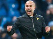 L'entraineur de Manchester City,Pep Guardiola