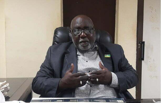 Mahamadi Lamine Kouanda,candidat au proclamé à la presidentielle de 2020 pour le CDP
