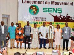Les membres de la Coordination nationale du Mouvement SENS