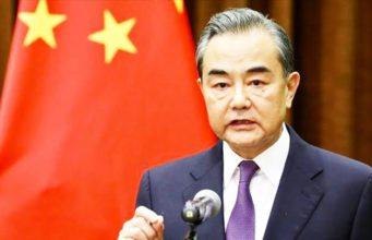 Le Conseiller d'État et Ministre des Affaires étrangères chinois
