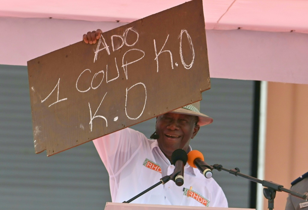 Le Président ivoirien Alassane Ouattara candidat à sa propre succession