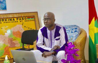 Abdoul Karim Sango,Ministre de la culture des arts et du tourisme