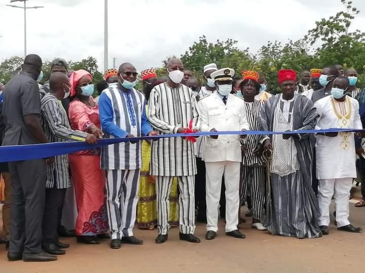 Centre-est:un bitume de 34 kilomètres inauguré à Koupéla