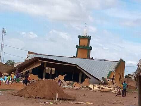Foncier urbain: la mosquée de Pazani  démolie