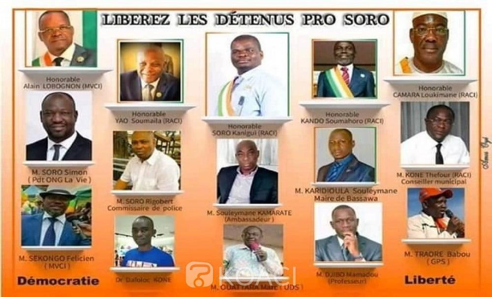 Affaire coup d'Etat en Côte d'Ivoire : 15 détenus pro-Soro libérés