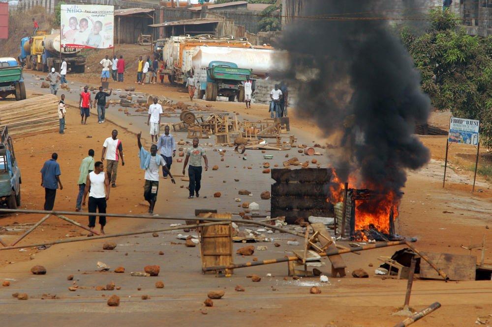 Guinée : 21 morts dont les forces de l'ordre et des manifestants dans les violences post électorales
