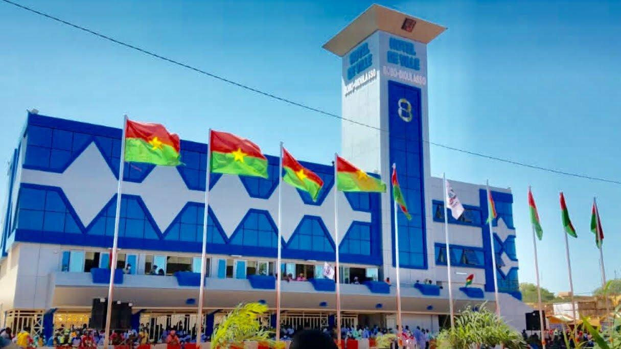 Bobo-Dioulasso: la mairie est désormais fonctionnelle, elle a été réhabilitée à plus d'un milliard 300 millions de fcfa