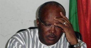 Le Président Roch Kabore, Président du Faso