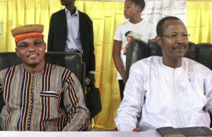 Le Poe Naaba Tanga et Nathanaël Ouedraogo fondateurs du MODEM
