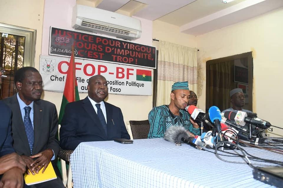 Burkina Faso : l'opposition politique prend acte de la victoire du président sortant Roch Koboré