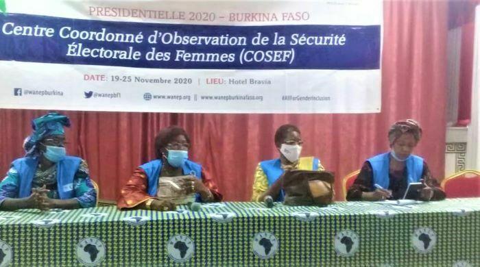 Burkina élection : le COSEF dresse un bilan global satisfaisant de sa participation à l'observation du scrutin