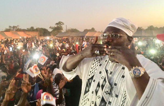 Eddie Komboigo, candidat du CDP à Ziniairé, Crédit photo Le Faso.net