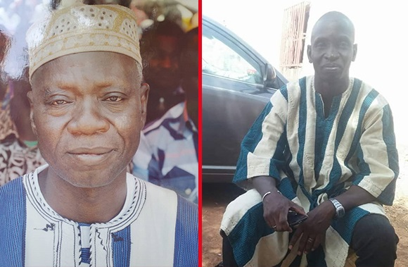 Les deux rois qui se disputent le trone à Fada N'Gourma, Photo Le Faso.net