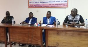 Les membre de l'Observatoire de production et d'analyse du discours (OPAD)