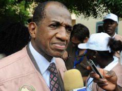 L'ancien premier ministre guinéen, Kabiné Komara,chef de la mission d'observation de la Cédéao pour les élections présidentielle et législatives du 22 novembre 2020 au Burkina Faso